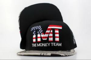 TMT Snapback Hats gt TMT The Money Team Snapbacks Hats USA Flag Logo