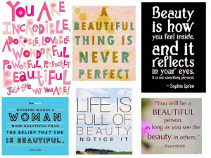 INSPIRATIONAL QUOTES TO BRIGHTEN YOUR DAY: BEAUTY QUOTES
