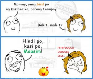 Tagalog Mommy and Child Jokes and Pinoy Nanay at Anak Jokes