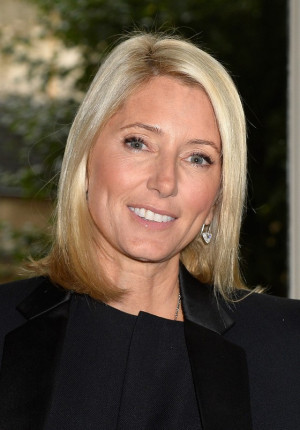 Princess Marie Chantal Mid-Length Bob Hairstyle for Women Over 40