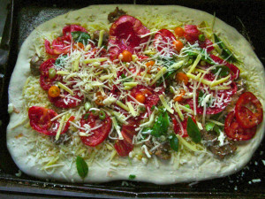 Here are some tips to make your homemade pizza especially good: