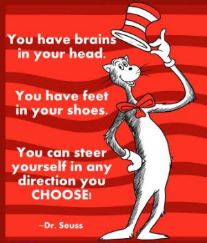 ... spans Dr. Seuss to Thoreau and everything in between. Enjoy