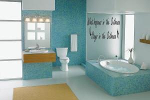 vinyl wall quotes wall decor bathroom 76dc5 quotes diy bathroom wall