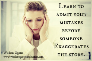 Quotes Admitting You Messed Up