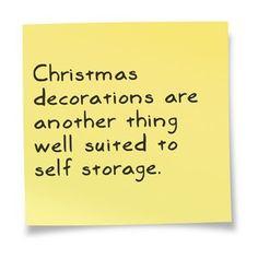 Storage Sayings