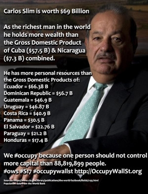 Carlos Slim richest man in the world