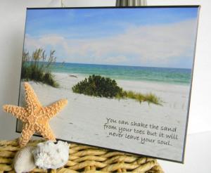 Beach Decor. Inspirational Quote. Beach by BonnieLassDesigns, $25.00