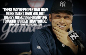 ... Jeter - Competition Quotes - Competitive - Sports - Winning - Quote