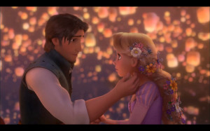 Disney Rapunzel and Flynn
