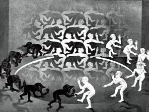 Maurits Cornelis (M. C.) Escher (1898-1972) b. Netherlands