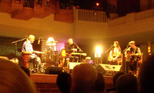 Nanci Griffith and the Kennedys in the Porter Center for Performing