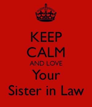 sister in law love