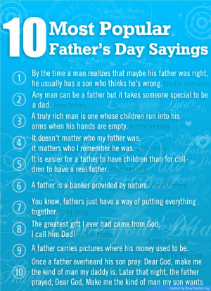 Quotes About Fathers Love Gallery: Ten Most Popular Fathers Day ...