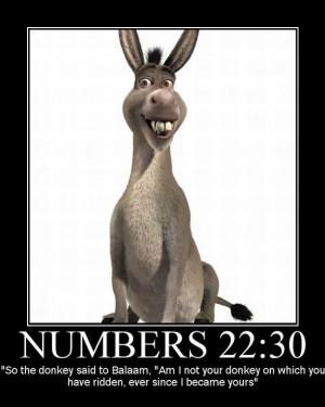 The Bible Talking Donkey