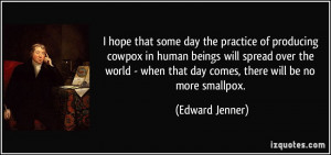 More Edward Jenner Quotes