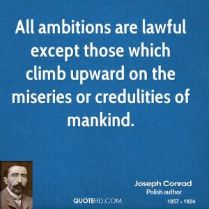 Joseph Conrad Legal Quotes