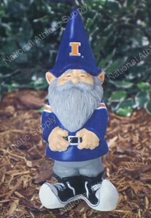 Details about University of Illinois Garden Gnome Figure Yard Statue