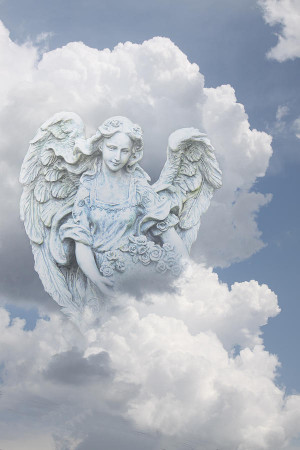 These are the heavenly angel drawing fine art print Pictures