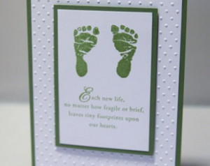 baby sympathy card loss of child thinking of you card infant sympathy ...