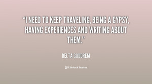 Quotes About Being a Gypsy