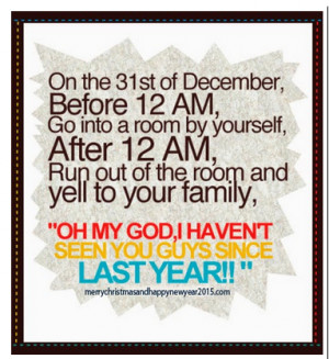 Best Happy new year 2015 funny quotes and sayings
