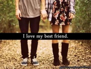 best friend love copy