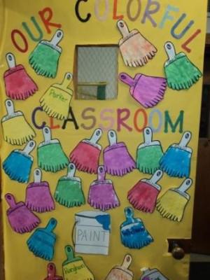Childcare Daycare Preschool Kindergarten Classroom Door Decoration.