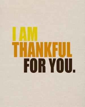 Landee See, Landee Do: Thankful For You Printable
