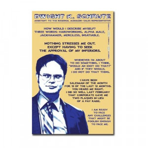 Dwight Schrute Quotes Dwight Schrute Quotes
