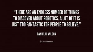 Daniel H Wilson Quotes