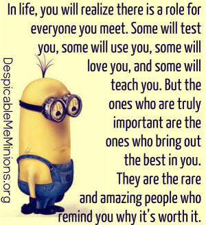 Minion-Quotes-In-life-you-will-realize-there-is-a-role-for-everyone ...