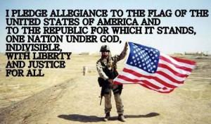 God bless the military