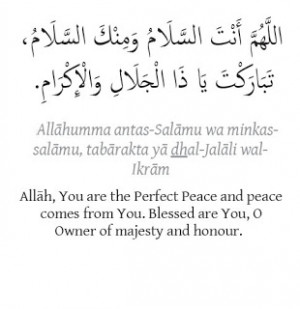 Islamic Quotes on Peace ..