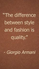 Giorgio Armani Quote