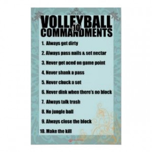 Volleyball Setter Dump Ball Quotes