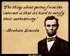Abraham Lincoln on the Importance of Freedom of Conscience and ...