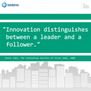 Nice quote about innovation