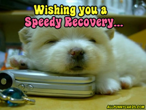 Home » Get Well Soon » Wishing you a Speedy Recovery