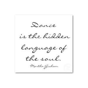 This is the most truthful dance quote