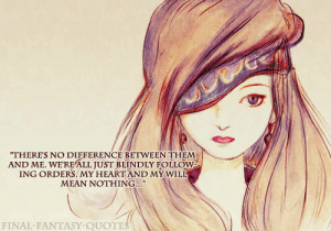 There's no difference between them and me. We're all just blindly ...