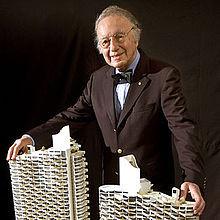 Harry Seidler with model.jpg