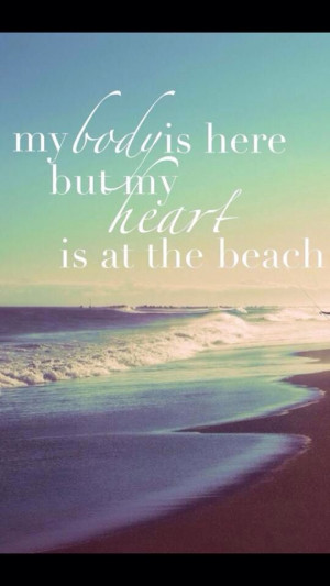 Is At The Beach Quote, Ocean Beach, Beach Day, The Ocean, Sunset Beach ...