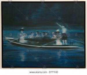 Stock Photo Boat Trip 1965 Gerhard Richter 1932 German Germany