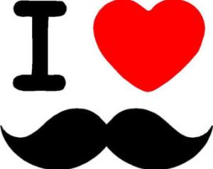 heart Mustaches Mustache I love mustache Mustache rides stickers ...