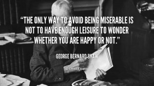 Quotes About Being Miserable