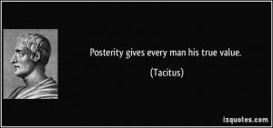 More Tacitus Quotes