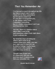 Quotes And Poems About Dementia. QuotesGram