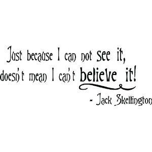 Jack Skellington quote