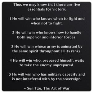 Sun Tzu, The Art of War