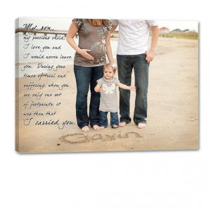 or Soon to Be Parents Photo Wall Art Child Baby with text, sayings ...